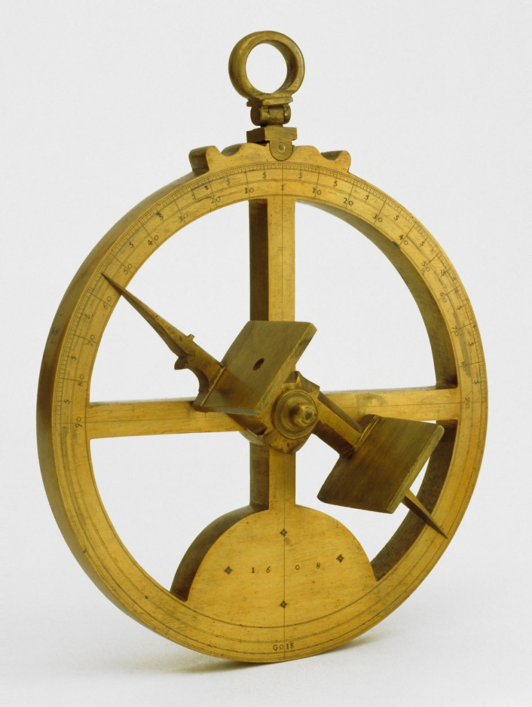 A 17th century astrolabe from the Museo Galileo