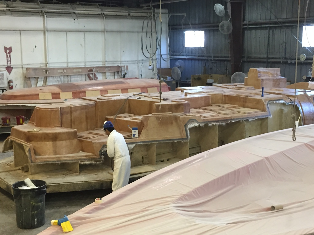Construction begins on the new Island Packet 460 Flying Fish