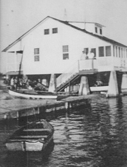 The KWYC original building, Henry Flagler's  bridge tender's house.