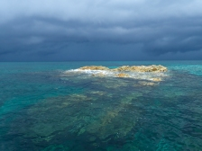 In more remote areas some reefs remain uncharted and visual navigation is essential