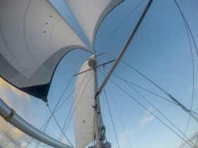 The geometry of sailing is one of its greatest allures