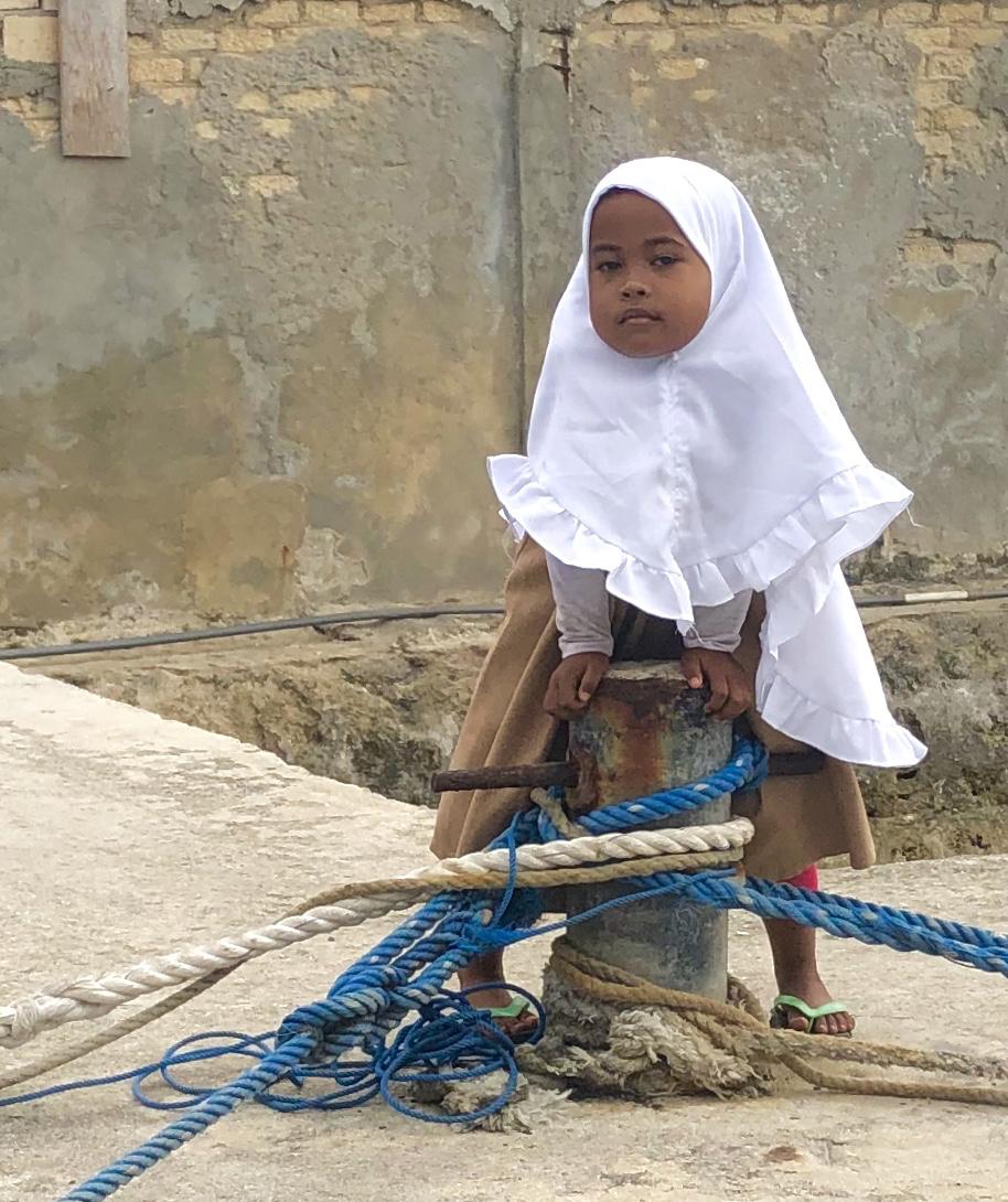 Tual Indonesian Girl