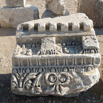 Carved Stone at Knidos